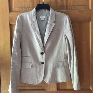 Women's J Crew dusty pink blazer
